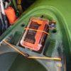 サウンド9.5のフロントダッシュボードにピッタリなタックルボックス