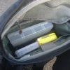 リーニアのタックルバッグ''グルーパー''の収納例|陸っぱりの小物紹介